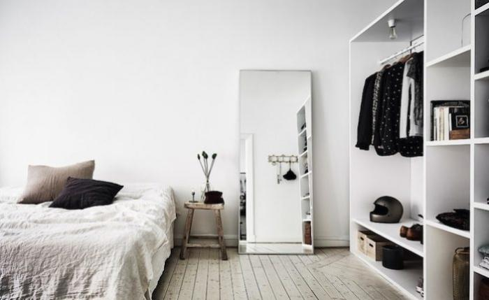 Vị trí, cách đặt gương trong phòng ngủ theo phong thủy 553626586