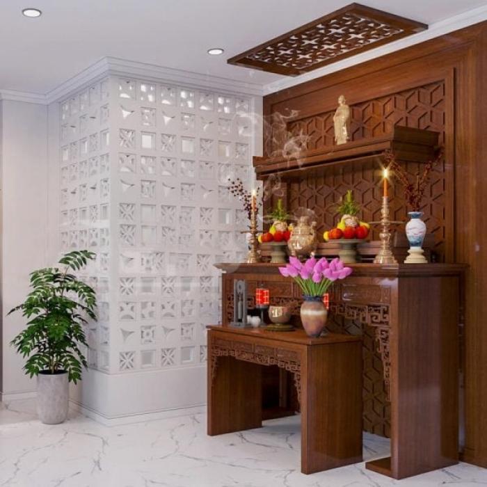 Tổng hợp 30+ mẫu bàn thờ tam cấp đẹp nhất hiện nay 1225111081