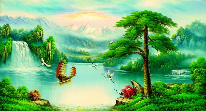 Tổng hợp những tranh ảnh phong thủy đẹp, mang lại nhiều may mắn và tài lộc 1226037585