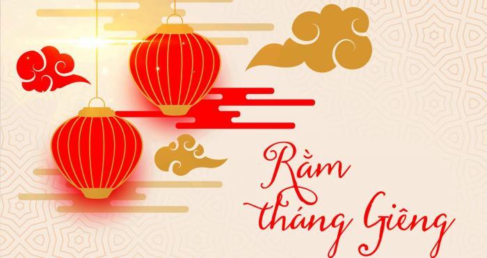 Mâm lễ cúng rằm tháng giêng theo văn hóa Việt Nam 174373481