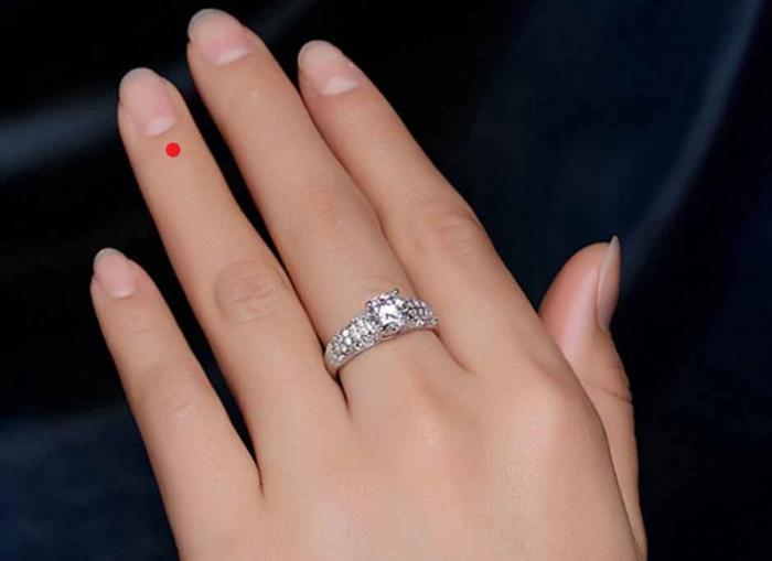 Khám phá ý nghĩa nốt ruồi ở ngón tay đeo nhẫn 1391708322