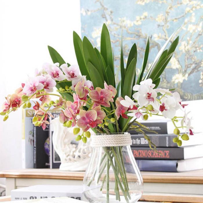 Hướng dẫn cách cắm hoa lan để bàn thờ đẹp và sang trọng 2099344883
