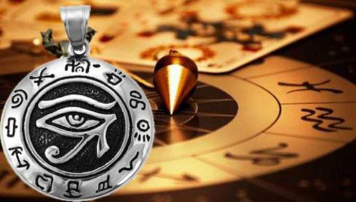 Horus Amulet - Bùa hộ mệnh Ai Cập bùa để cầu bình an và sức khỏe 1446765258